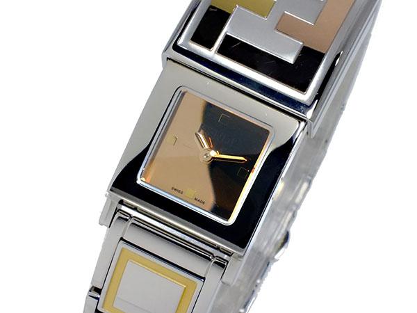 フェンディ FENDI シークレット SECRET クオーツ レディース 腕時計 F556270【送料無料】