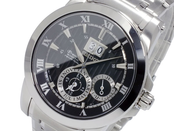 セイコー SEIKO プルミエ Premier キネティック メンズ パーぺチュアル 腕時計 SNP093P1【送料無料】