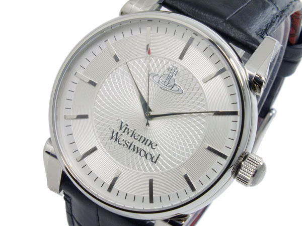 ヴィヴィアン ウエストウッド VIVIENNE WESTWOOD フィンズバリー クオーツ メンズ 腕時計 時計 VV065SLBK