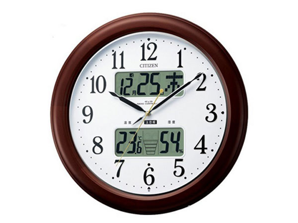 シチズン CITIZEN 電波掛時計 インフォームナビEX 4FY620-006