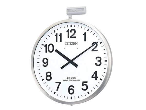 シチズン CITIZEN シチズン 電波掛け時計 ポールウェーブSF 4MY611-N19