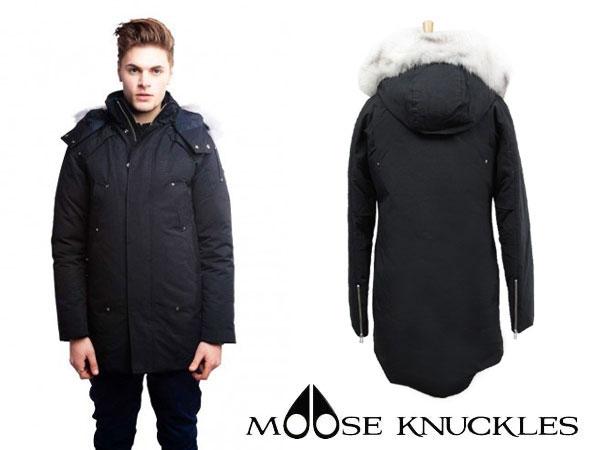 MOOSE KNUCKLES ムースナックルズ ダウンジャケット メンズ STIRLING PARKA MK2001MP ブラッbyfg76Y