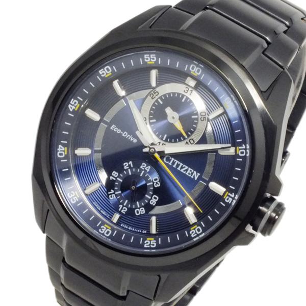 シチズン CITIZEN エコドライブ クオーツ メンズ 腕時計 時計 BU3005-51L ブルー