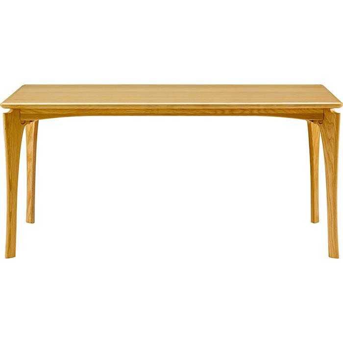 本州・四国は開梱設置無料 ボスコプラス ネスタ ダイニングテーブル 150cm ナチュラル DT84005Q-PN800(代引不可)【送料無料】