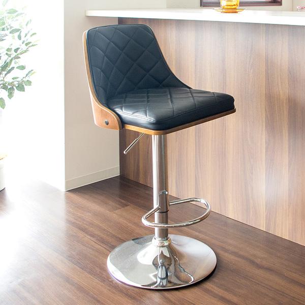 バーチェア Tyst(ティスト) カウンターチェア チェア 椅子 いす(代引不可)【送料無料】【S1】