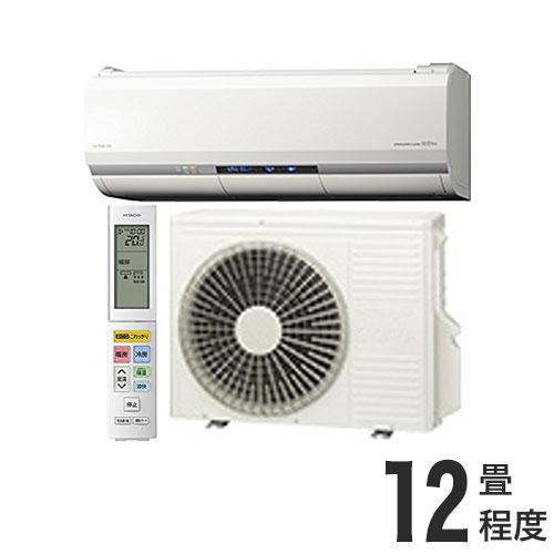 日立 ルームエアコン ZJシリーズ おもに12畳 RAS-ZJ36H (設置工事不可)(代引不可)【送料無料】