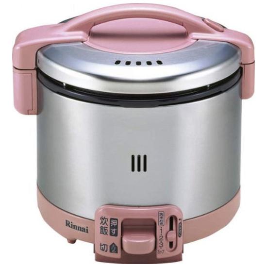 リンナイ ガス炊飯器 こがまる RR-035GS-D(RP) 13A 【都市ガス】 3.5合炊き(代引不可)【送料無料】
