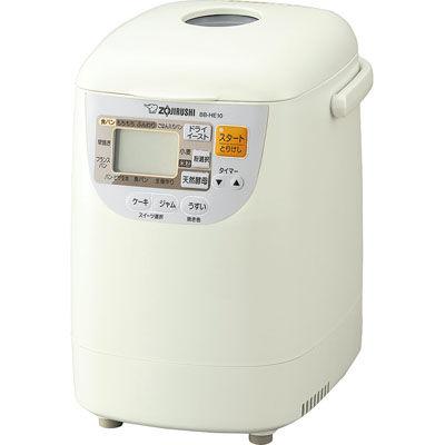 象印 ホームベーカリー 1斤 BB-HE10-WA ホワイト【送料無料】【S1】