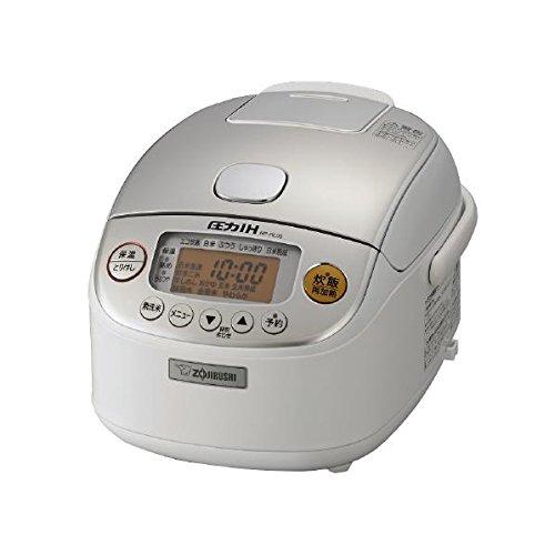 象印 圧力IH炊飯ジャー 極め炊き 3合 NP-RL05-WA ホワイト 炊飯器【送料無料】