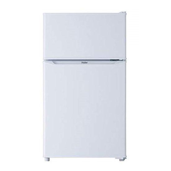 ハイアール 85L 2ドア直冷式冷蔵庫 JR-N85C-W(代引不可)【送料無料】