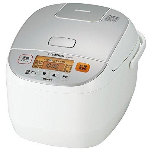 象印 マイコン炊飯器 極め炊き 1升 NL-DS18-WA ホワイト 炊飯ジャー【送料無料】