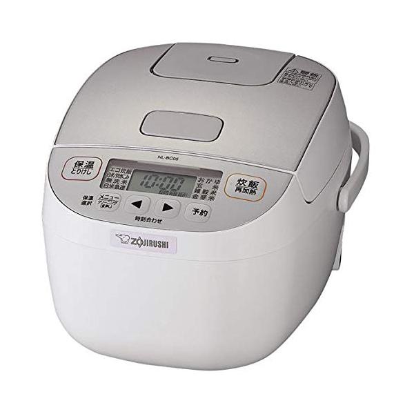 象印 マイコン炊飯ジャー 3合炊き NL-BC05-WA ホワイト 極め炊き 炊飯器【送料無料】