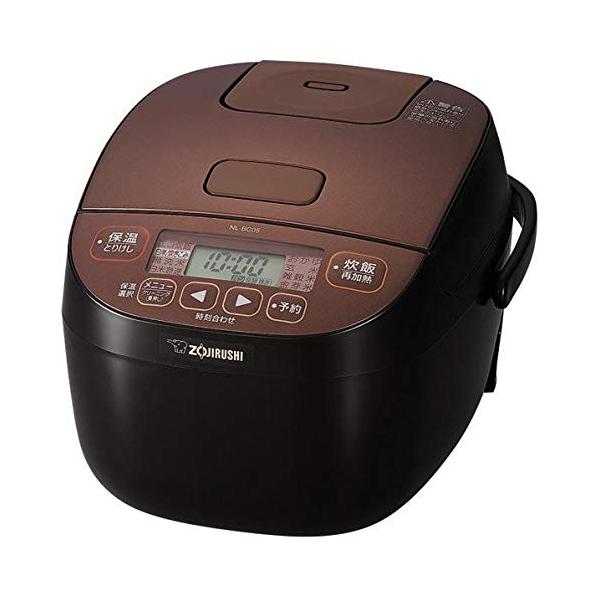 象印 マイコン炊飯ジャー 3合炊き NL-BC05-TA ブラウン 極め炊き 炊飯器【送料無料】