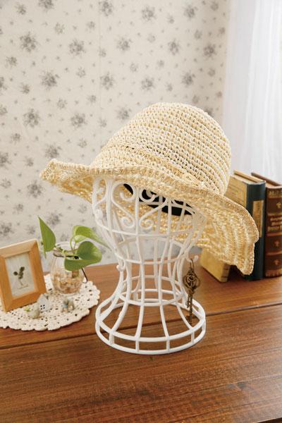 かんたん便利な帽子スタンド ホワイト/36点入り(代引き不可)【送料無料】