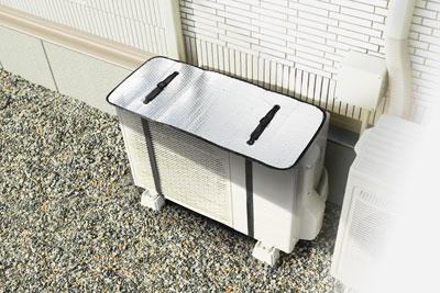 エアコン室外機用 遮熱エコパネル /60点入り(代引き不可)