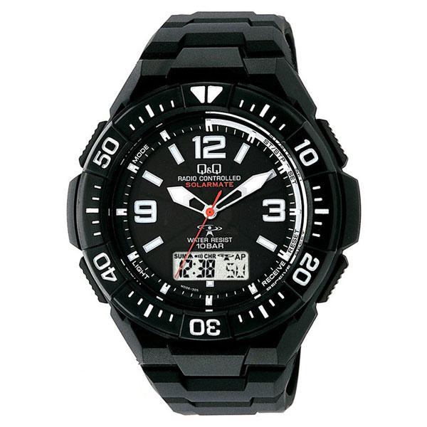 【CITIZEN】シチズン Q&Q 電波ソーラー メンズ腕時計MD06-305 SOLARMATE (ソーラーメイト) /5点入り(き)【送料無料】