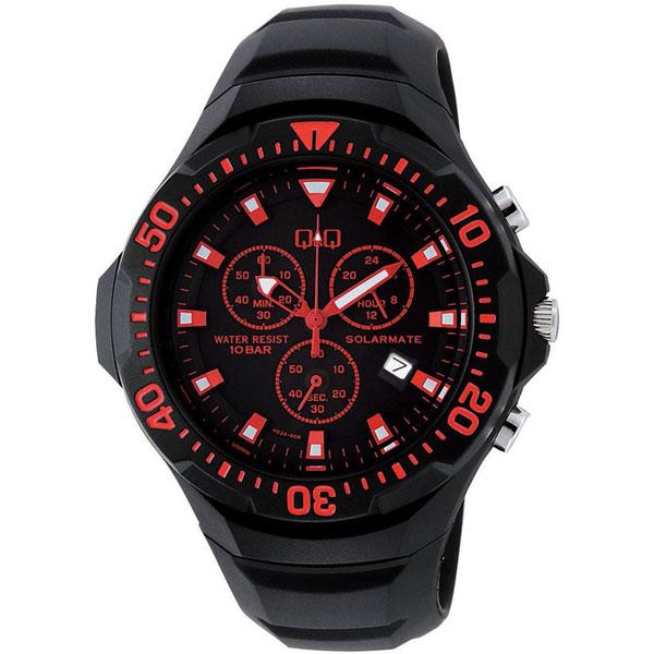 【CITIZEN】シチズン Q&Q ソーラー電源 メンズ腕時計H034-006 SOLARMATE (ソーラーメイト) /10点入り(代引き不可)