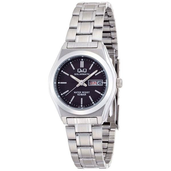 【CITIZEN】シチズン Q&Q ソーラー電源 レーディース腕時計H011-202 SOLARMATE (ソーラーメイト) /1点入り(代引き不可)【送料無料】