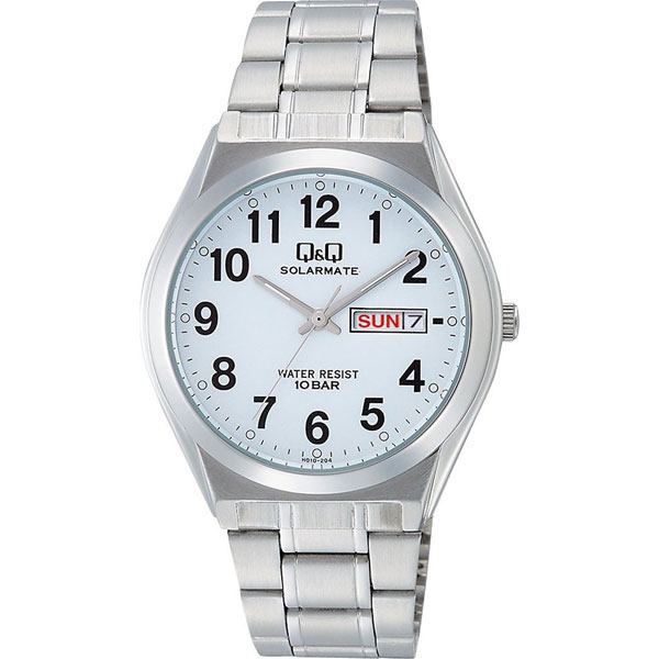 【CITIZEN】シチズン Q&Q ソーラー電源 メンズ腕時計H010-204 SOLARMATE (ソーラーメイト) /5点入り(代引き不可)【送料無料】
