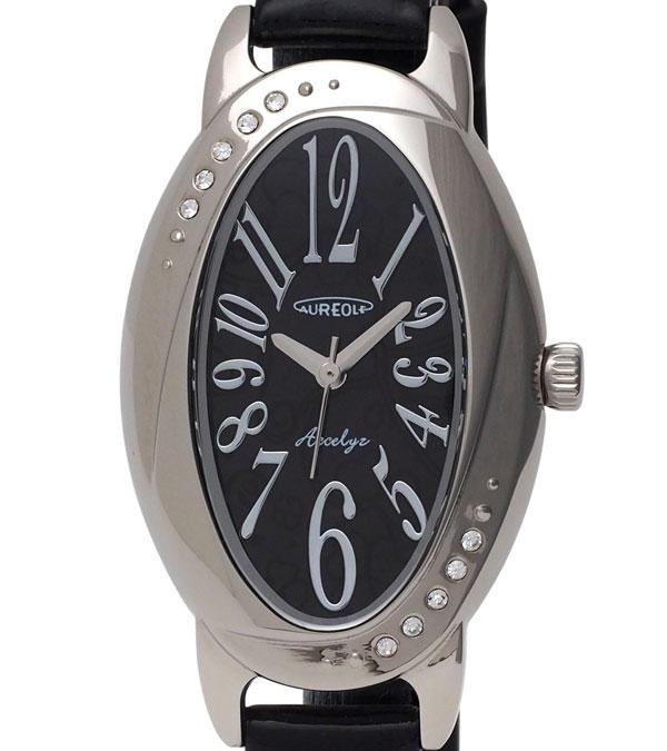 AUREOLE オレオール レディース腕時計 SW 583L 1 アナログ表示 ソーラー 日常生活用防水5点入り送料無料zjSqMLpGUV
