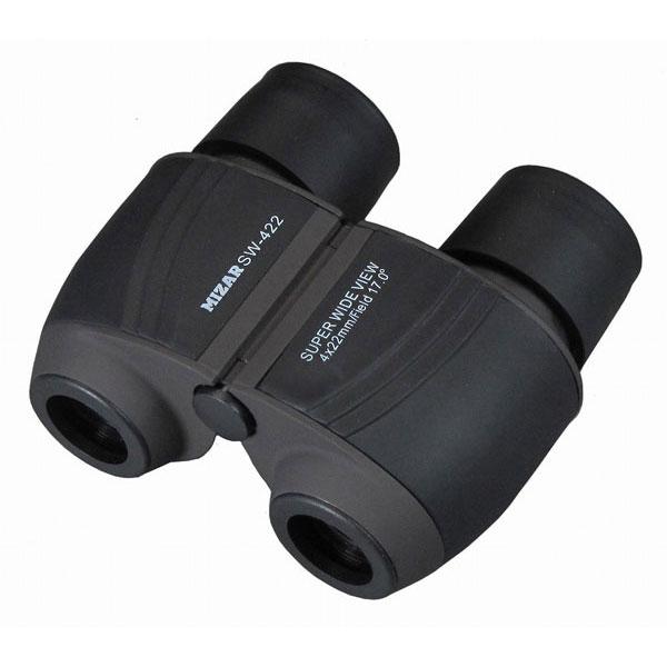 【MIZAR-TEC】ミザールテック 4倍22ミリ口径 コンパクトスーパーワイド双眼鏡SW-422 /5点入り(代引き不可)