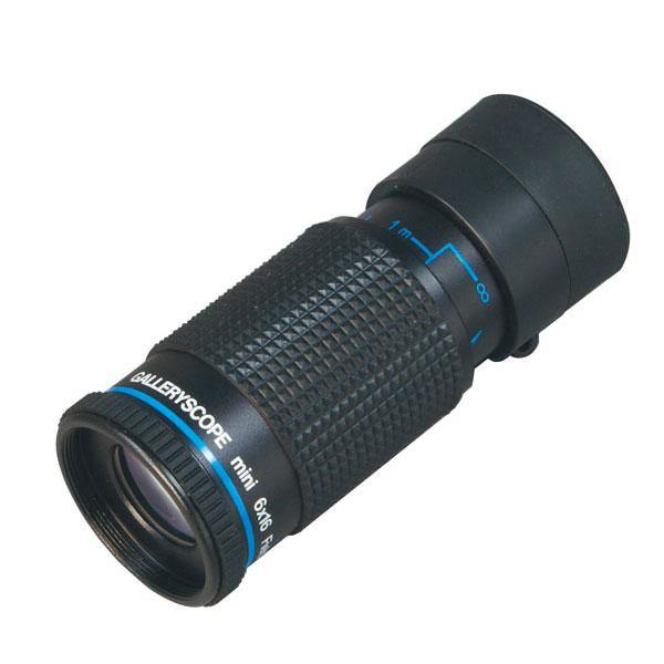 【MIZAR-TEC】ミザールテック 単眼鏡 6倍16ミリ口径 至近距離・小型軽量タイプ ケース付き 日本製 KM-616 /10点入り(代引き不可)