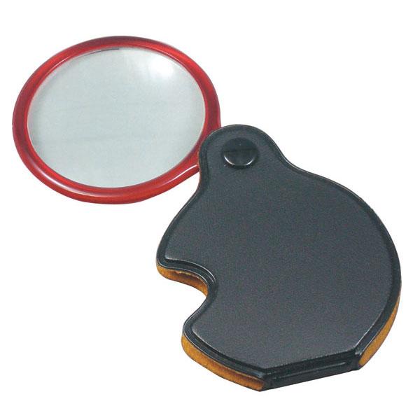 【MIZAR-TEC】ミザールテック ポケットルーペ 倍率3.5倍 レンズ径45mm 日本製 ブラック RK-20 /50点入り(代引き不可)【送料無料】