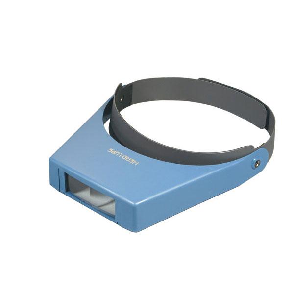 ヘッドルーペ 倍率2.5倍 レンズ径28×71mm マジックテープバンド 日本製 3000H /10点入り(代引き不可)
