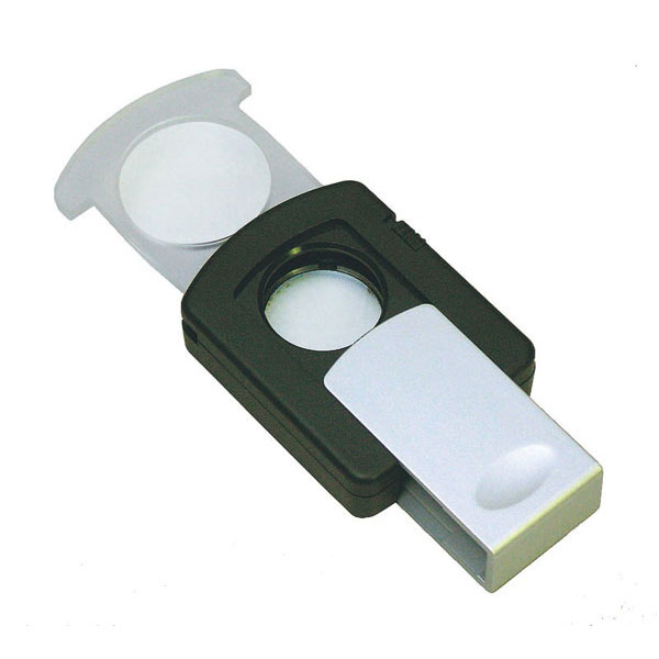 【MIZAR-TEC 】ミザールテック スライドルーペ 倍率2.5倍・3倍 レンズ径23mm LEDライト付き 日本製 RM-329P /50点入り(代引き不可)【送料無料】【S1】