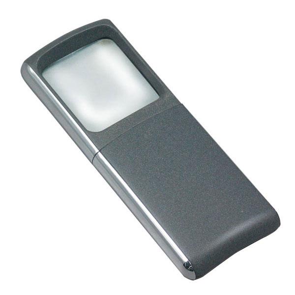 ポケットルーペ 倍率3倍 レンズ径35×40mm LEDライト付 日本製 DO-40LED /50点入り(代引き不可)【送料無料】