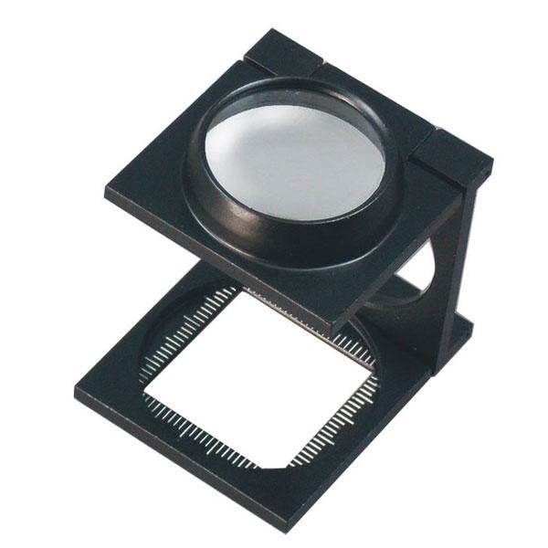 【MIZAR-TEC 】ミザールテック 高倍率メタルルー ペ リネンテスター 倍率6倍 レンズ径25mm 日本製 RSB-250 /40点入り(代引き不可)【送料無料】
