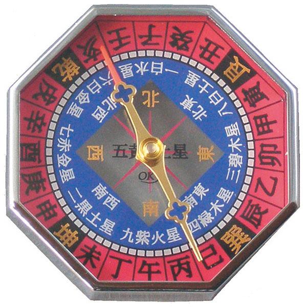 【MIZAR-TEC】ミザールテック 風水コンパス ドライタイプ 日本製 GF-803 /40点入り(代引き不可)【送料無料】