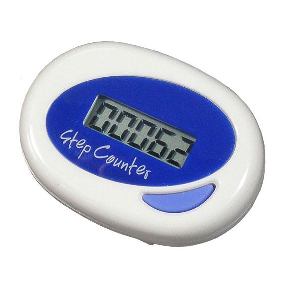 【MIZAR-TEC】ミザールテック デジタル歩数計 調整機能付 ホワイト NO1400 /40点入り(代引き不可)【送料無料】