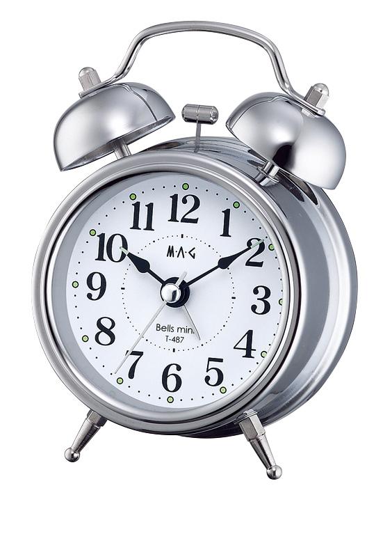ベル音目覚し時計 T-487 ベルズミニ /80点入り(代引き不可)