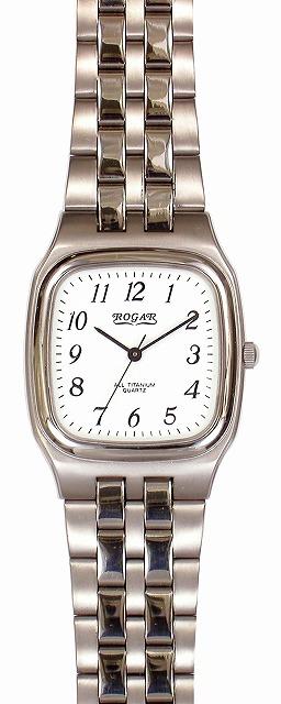 【ROGAR】ローガル メンズ腕時計 RO-052M-WS 日常生活用防水(日本製) /5点入り(代引き不可)【送料無料】