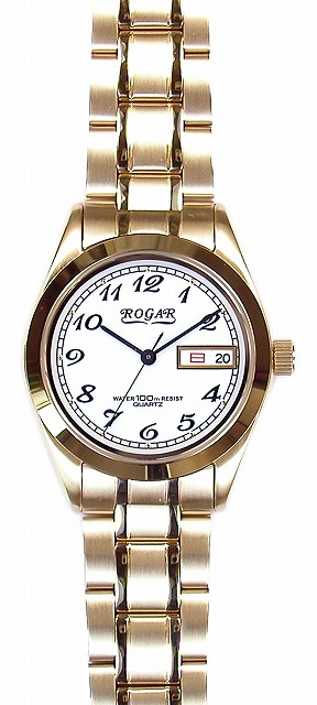 【ROGAR】ローガル メンズ腕時計 RO-064MA-S 10気圧防水(日本製) /5点入り(代引き不可)【S1】