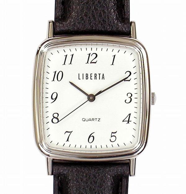 【LIBERTA】リベルタ メンズ腕時計 LI-027BS 日常生活用防水(日本製) /1点入り(代引き不可)