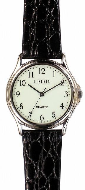【LIBERTA】リベルタ メンズ腕時計 LI-036MB-01 日常生活用防水(日本製) /5点入り(代引き不可)【送料無料】