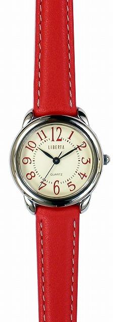 【LIBERTA】リベルタ レディース腕時計 LI-039LR-03 日常生活用防水(日本製) /10点入り(代引き不可)