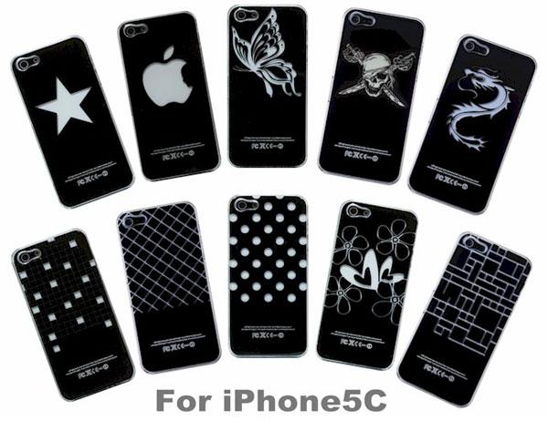 光るiPhone 5C専用 ハードケース 10柄 光るiPhone 5C専用 ハードケース/50点入り(10柄)アソート(代引き不可)【送料無料】