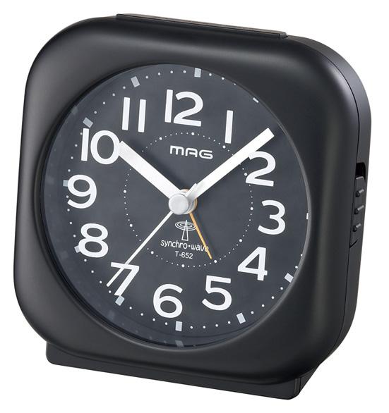 アナログ電波時計 T-652 ルーカス /50個入り(代引き不可)