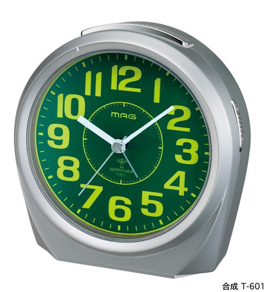 アナログ電波時計 T-601 フォッカー /24個入り(代引き不可)【送料無料】【S1】