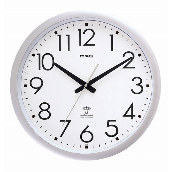 電波掛時計 W-462 ウェーブ420 /8点入り(代引き不可)