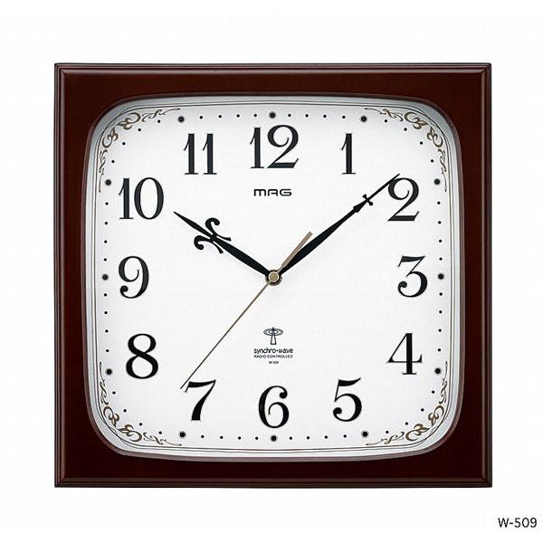 電波掛時計 W-509 アステール /12点入り(代引き不可)