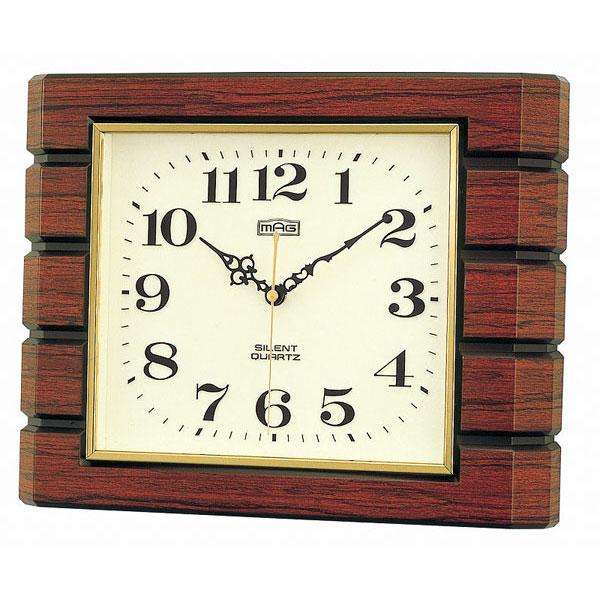 木枠掛時計 W-198 憩 /5点入り(代引き不可)