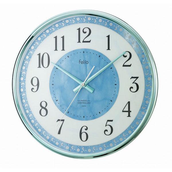電波掛時計 FEW165 コバルトアワー /12点入り(代引き不可)