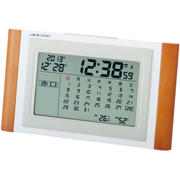 カレンダー電波時計 TCA-051 カレンダー電波時計 TCA-051/24点入り(代引き不可)