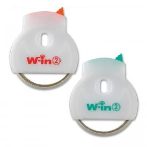 テープカッター ウィン-2・テープカッター(日本製) ウィン-2・テープカッター グリーン/200点入り(代引き不可)【S1】
