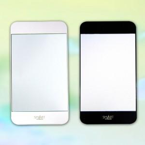鏡(ミラー) スマートミラー(日本製) スマートミラー(アソート)・ホワイト/150点・ブラック/150点(代引き不可)【送料無料】