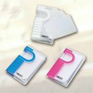カードケース ポート(日本製) ポート(アソート)・ピンク/80点・ブルー/80点・ホワイト/80点(代引き不可)